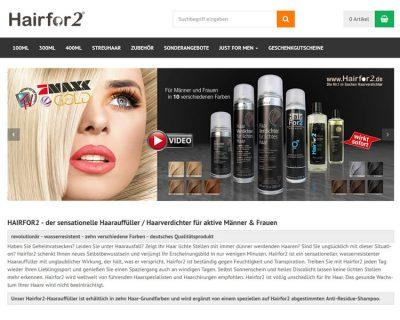 Bild zu Hairfor2 Deutschland