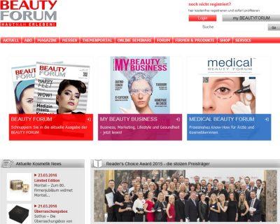 Brancheneintrag: Beauty Forum
