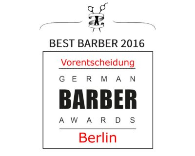 Friseurmesse: German Barber Awards 2016 - Vorentscheidung Berlin