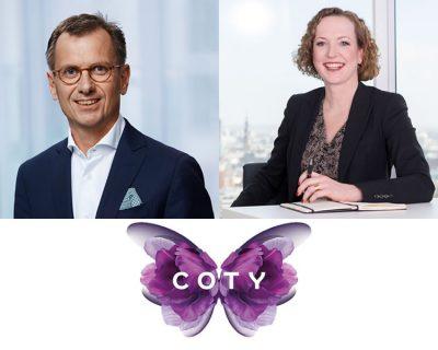 Bild: Führungswechsel bei Coty Professional Beauty DACH