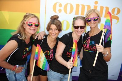 Coming out in deinem Wella Style auf der Cologne Pride