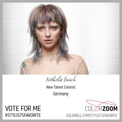 6 - Vote for me - Goldwell Stylists Favorite Award 2018