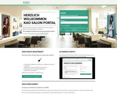 Brancheneintrag: Kao Salon Portal