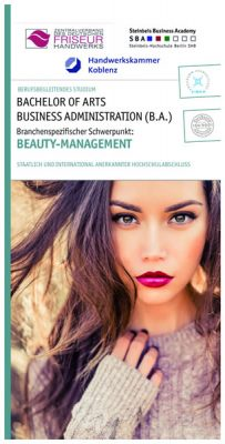 Studienstart B.A. Business Administration in Beauty-Management