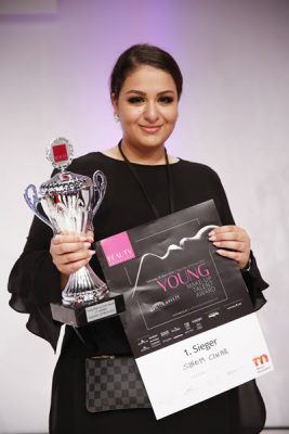 Sinem Cinar aus Brühl gewinnt Young Make-up Talent Award