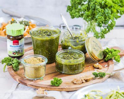 Bild zu Rezept-Tipp: WurzelKraft Pesto