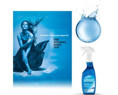 Bild zu Desinfektion für Salonprofis: Barbicide Spray