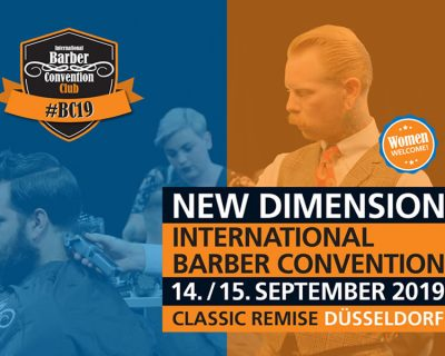 Bild zu Welcome to the International Barber Convention 2019!