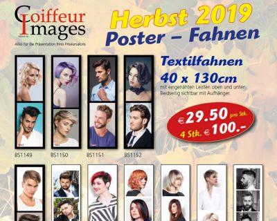 Bild zu Herbst 2019: Neue Poster, Fahnen und Frisurenbücher