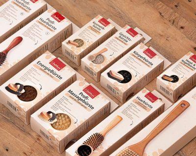 Bild: Neue Verpackungen für unsere Bürsten