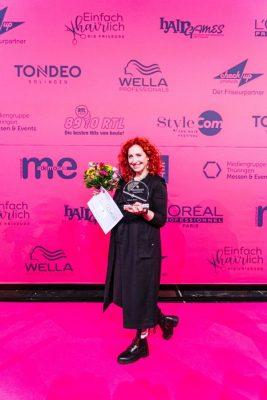 Stefanie Ehrich ist die Unternehmerin des Jahres 2019 im Friseurhandwerk