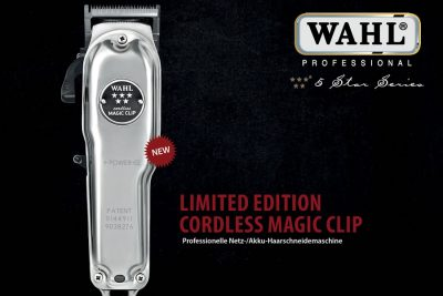 Bild zu Cordless Magic Clip im neuen Chrome-Design