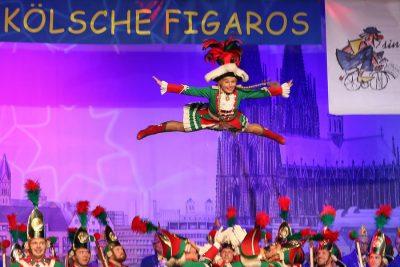 Bild zu Abfeiern, bis der Arzt kommt bei der Kostümsitzung der Kölschen Figaros 2020