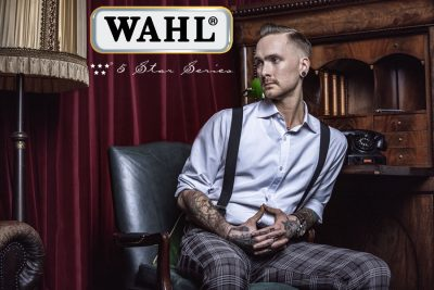 Frisurentrend: Skinfaded Sideparting - Wahl präsentiert den markanten Männerlook 2020