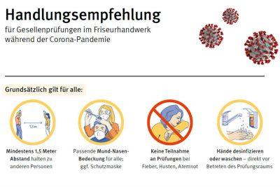 Bild zu Handlungsempfehlung für Gesellenprüfungen im Friseurhandwerk