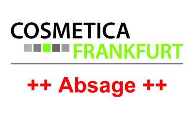 Bild zu Absage COSMETICA Frankfurt 2020