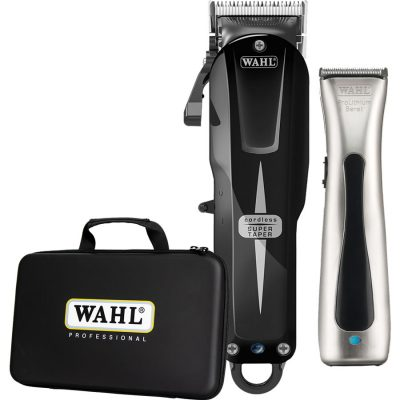 Limited Edition: Wahl Cordless Super Taper Black Version & Beret Trimmer