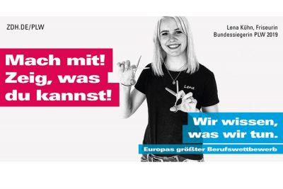 Bild zu Lena Kühn ist PLW-Botschafterin 2020