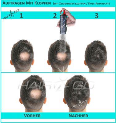 HAIR&GO Streuhaar