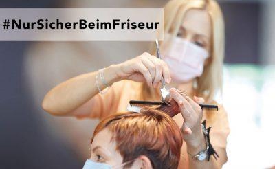 Bild zu #NurSicherBeimFriseur