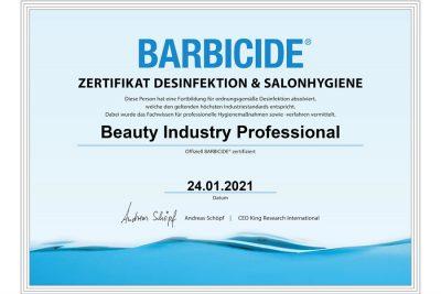 Bild zu 30.000 Friseure aus DACH machen BARBICIDE Zertifikat