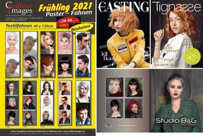 Bild zu Coiffeur Images - Broschüre Frühjahr 2021