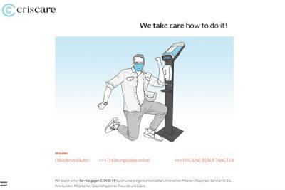 Brancheneintrag: CC-criscare UG (haftungsbeschränkt)