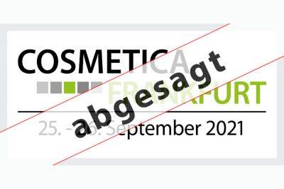 Bild zu Die COSMETICA Frankfurt 2021 findet nicht statt