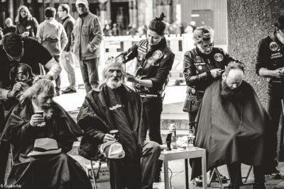 Bild zu Der Cutting Edge Award 2021 stellt seine Charity Aktion für Barber Angels vor