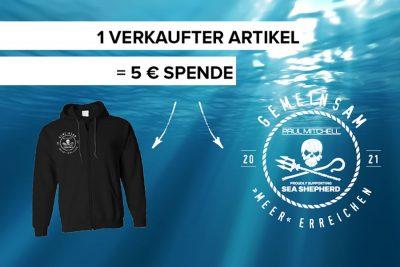 Bild zu Paul Mitchell® kooperiert mit Sea Shepherd Deutschland e. V.