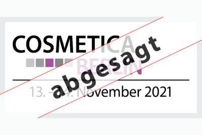 Bild zu COSMETICA Berlin 2021 findet nicht statt