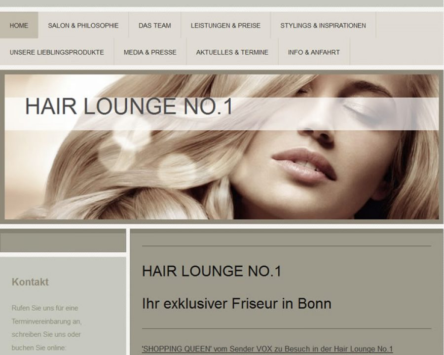 HAIR LOUNGE NO.1: