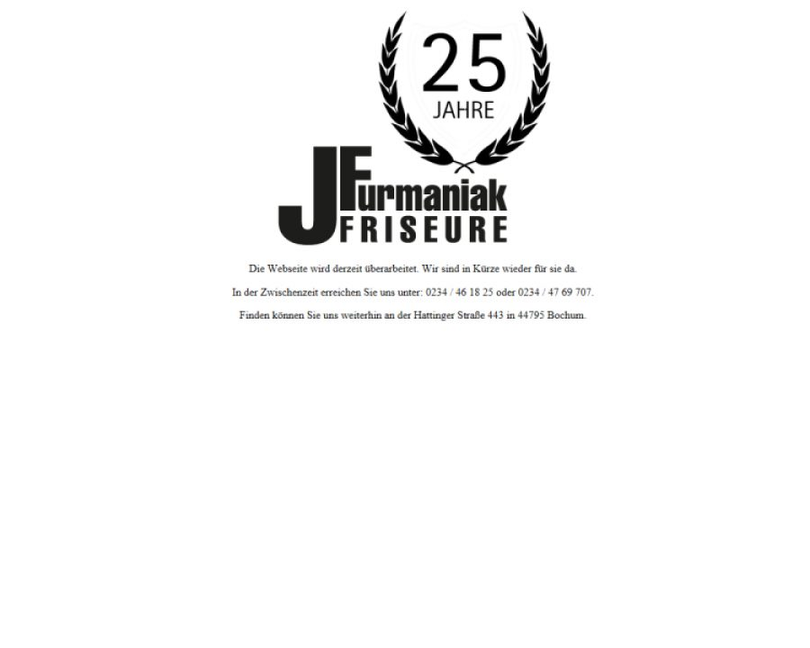J Furmaniak Friseure: Friseursalons