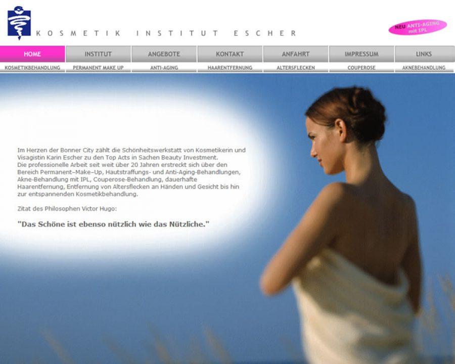 Kosmetik Institut Escher: Kosmetik