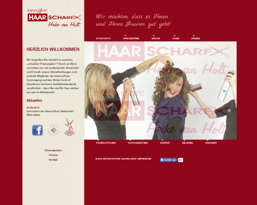 Intercoiffure HAARSCHARF: Friseursalons