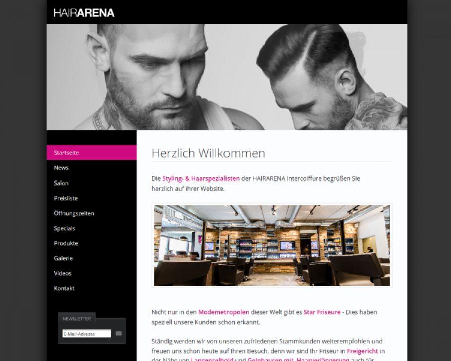 hairARENA Intercoiffure: Friseursalons
