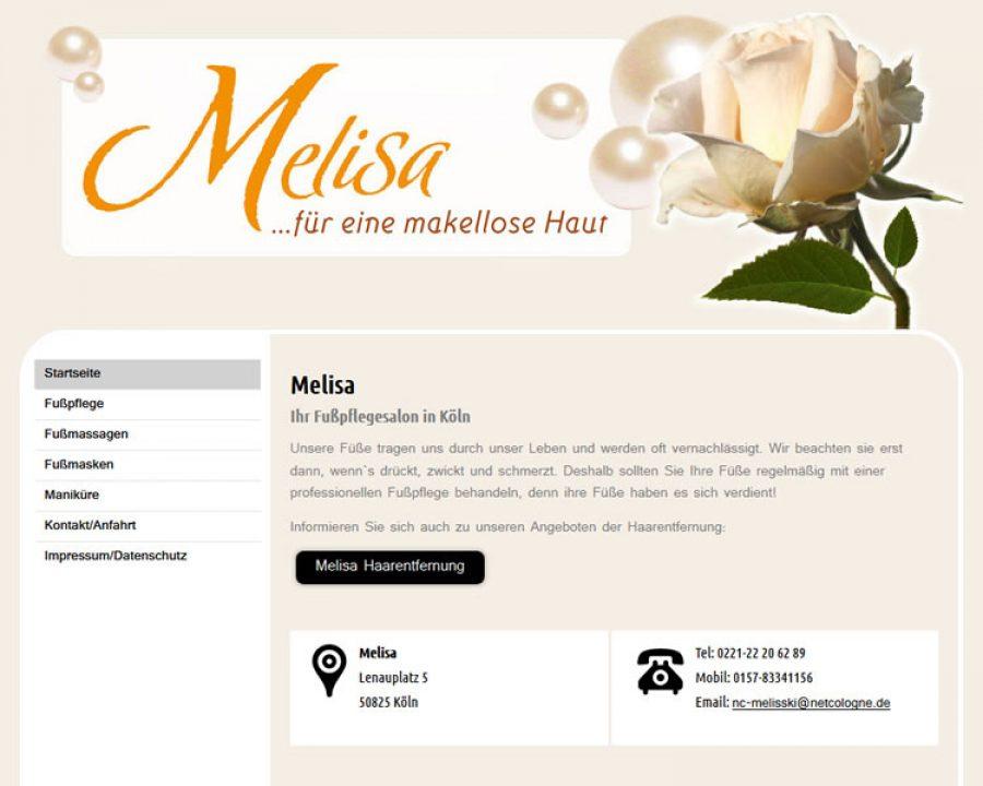 Melisa: Fußpflege
