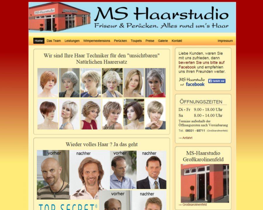 MS Haarstudio: Friseursalons