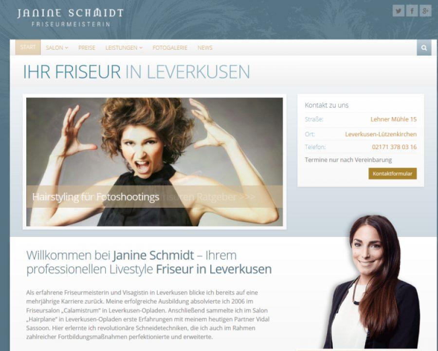 Janine Schmidt | Ihr Friseur in Leverkusen: Friseursalons