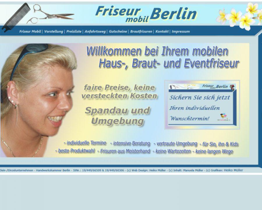 Friseur - mobil - Berlin: Kosmetik