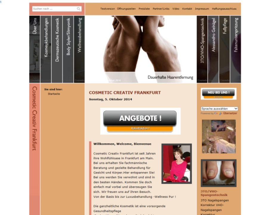 Kosmetikstudio Creativ: Kosmetik