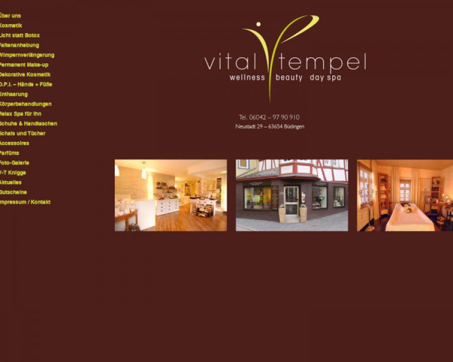 Vital-Tempel: Kosmetik
