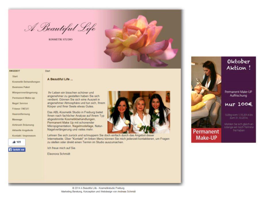 A Beautiful Life - Kosmetik Studio: Kosmetik