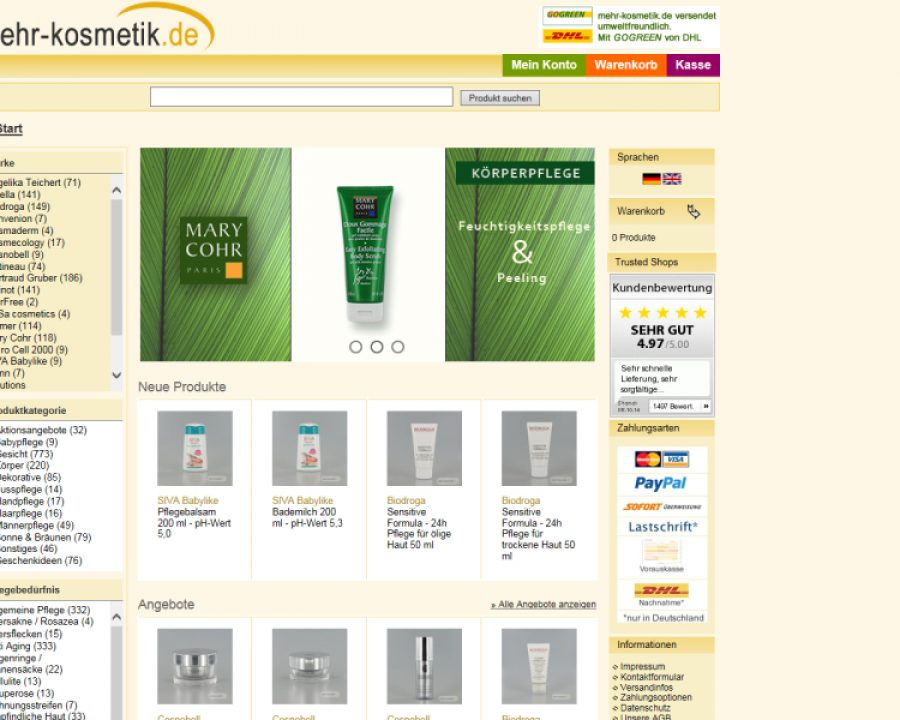 Kosmetik-Institut Schiefer: Kosmetik