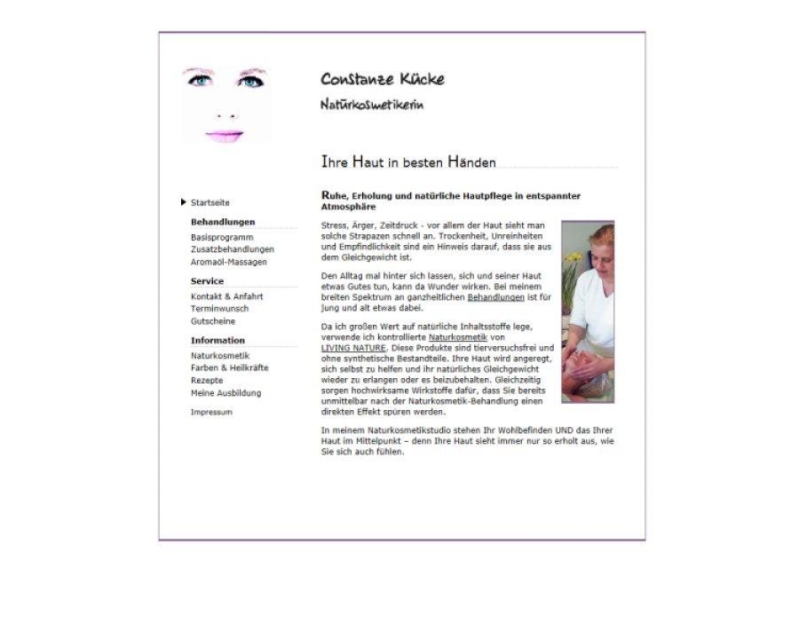 Constanze Kücke - Naturkosmetikerin: Kosmetik