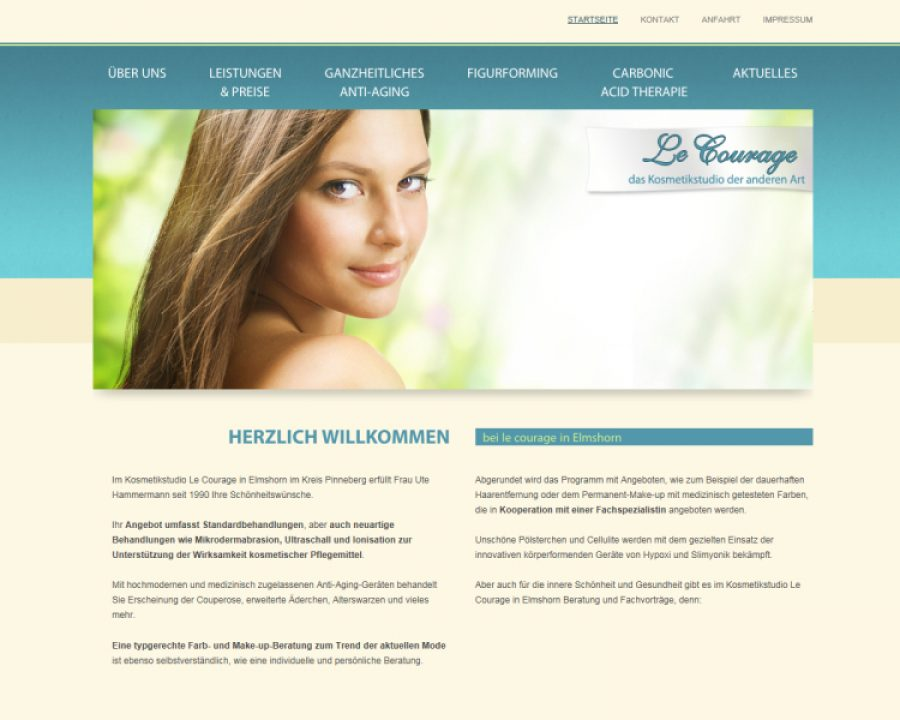 Le Courage Kosmetikstudio: Kosmetik