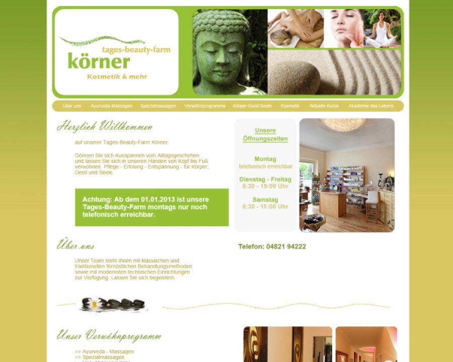 Tagesbeautyfarm Körner: Kosmetik