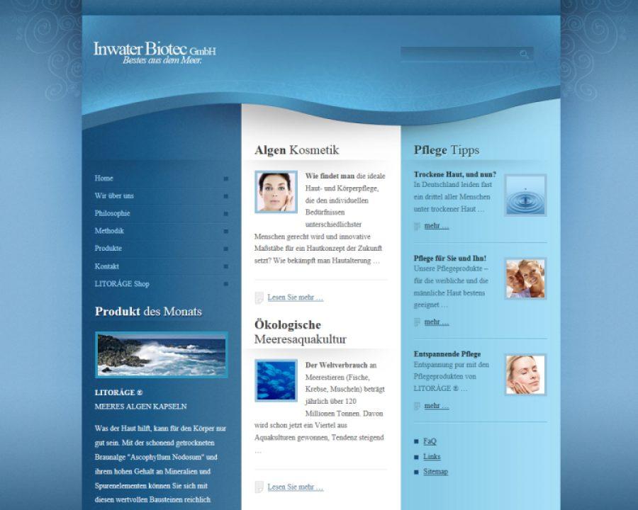 Inwater Biotec GmbH: Kosmetik