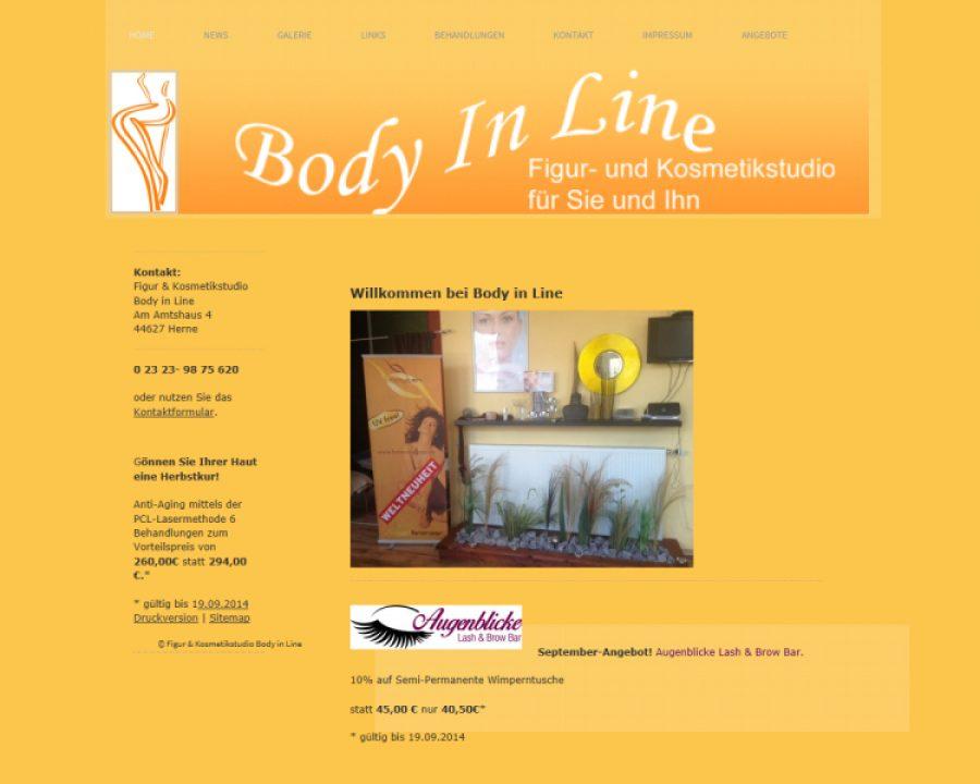 Figur- und Kosmetikstudio Body In Line: Kosmetik