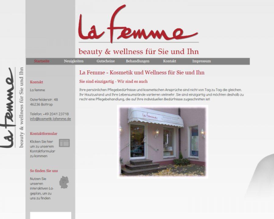 La Femme Kosmetikinstitut und Tagesschönheitsfarm: Kosmetik